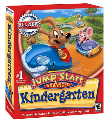 JumpStart Advanced Kindergarten Mac Game DVD