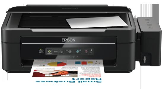 EPSON L355 Ink Tank Print Scan & Copy Colour Inkjet WiFi Printer