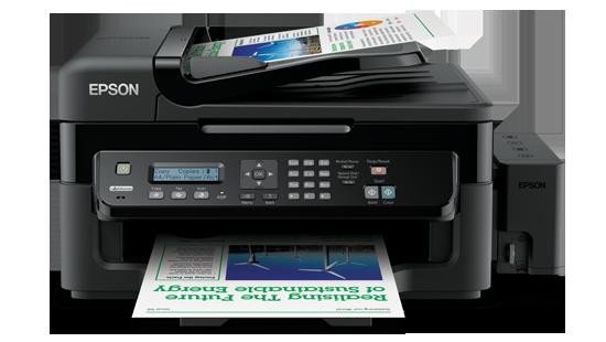 EPSON L550 Ink Tank Print Scan & Copy Colour Inkjet WiFi Printer