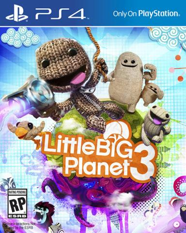 LittleBigPlanet 3: Day 1 Edition PLAYSTATION 4 GAME