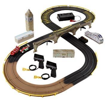 Cars 2 R/C London City Raceway Slot Car Racing Set RC Toys