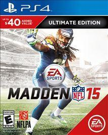 Madden NFL 15: Ultimate Edition  PlayStation 4 Game