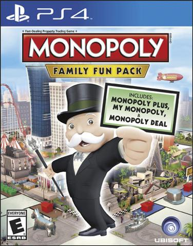 Monopoly Family Fun Pack PLAYSTATION 4 GAME