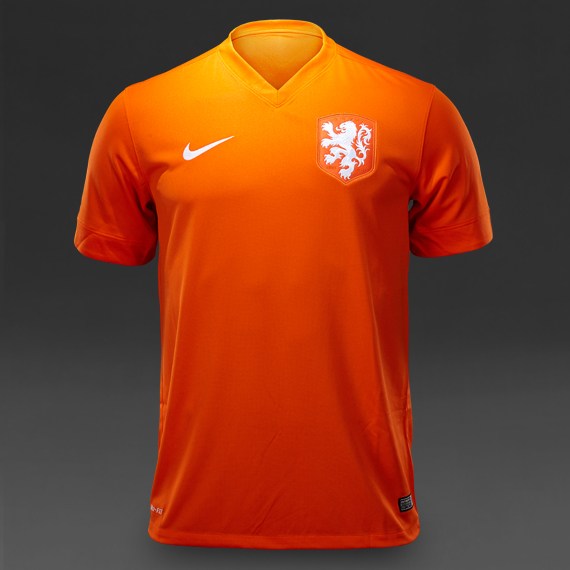 Nike Holland World Cup Jersey Orange/White