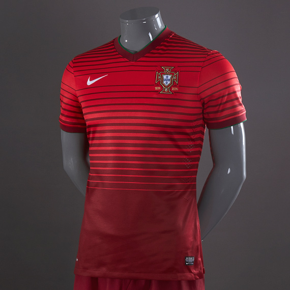 Nike Portugal World Cup Home Jersey - Team Red/Action