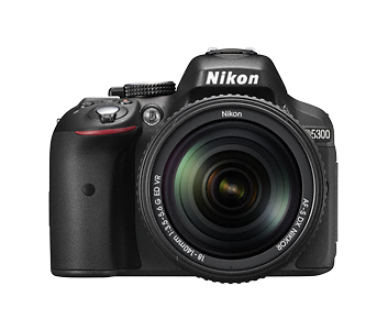 Nikon 24.2 Mega pixels D5300 DSLR