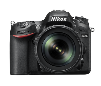 Nikon 24.72 Mega pixels  D7200 DSLR