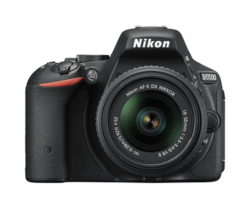 Nikon 24.78 Mega pixels D5500 DSLR