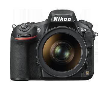 Nikon 36.3 Mega pixels D810 DSLR
