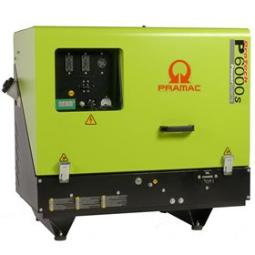Pramac P6000S Diesel 5.34  KVA Electric  Start Portable Generators