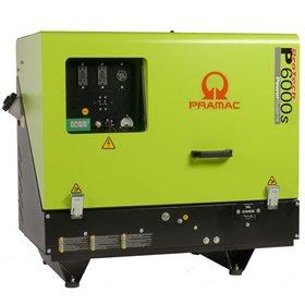 Pramac P6000S Diesel 5.34  KVA Electric  Start Portable Generators