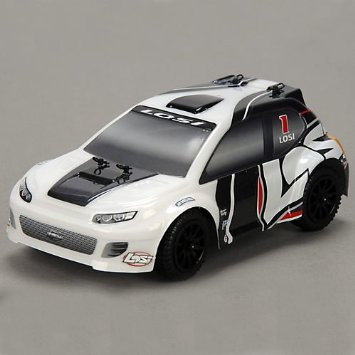 1/24 4WD Rally Car RTR: Grey/White RC Toys