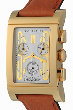 BULGARI RETTANGOLO RTC49GLD WATCH