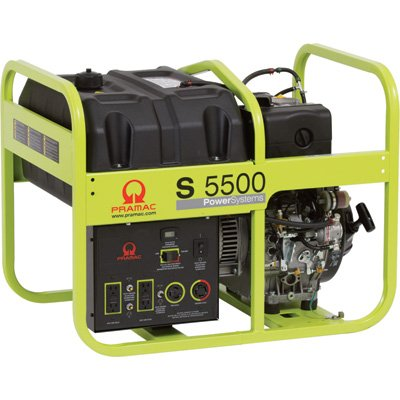 Pramac S5500 Diesel 5.55 KVA Electric  start Portable Generators