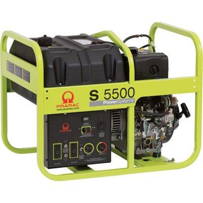Pramac S5500 Diesel 5.55 KVA Electric  start Portable Generators