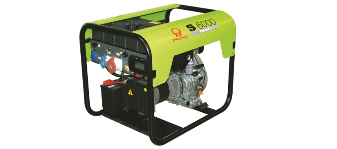 Pramac S6000 DIESEL 5.88 KVA Electric start Portable Generators