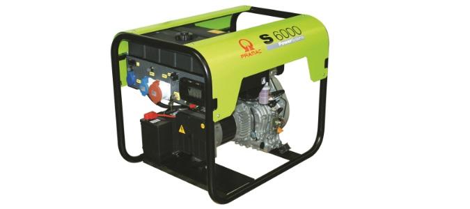 Pramac S6000 DIESEL 5.88 KVA Electric start Portable Generators
