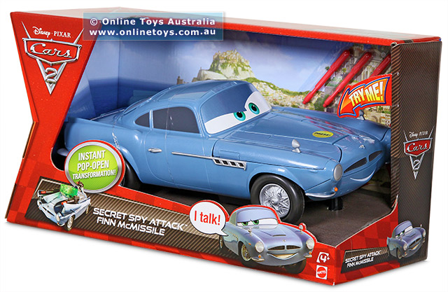 Cars 2 Secret Spy Attack Finn McMissile RC Toys