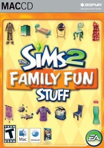 Aspyr Media Inc The Sims 2 Family Fun Stuff Pack Mac Game DVD