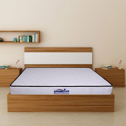 Springtek The Classic Care 10 Inches Pocket Spring Mattress for Queen Size Beds
