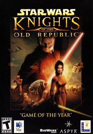 Star Wars: Knights of the Old Republic  Mac Game DVD