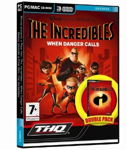 The Incredibles: When Danger Calls Mac Game DVD