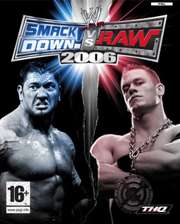 WWE SmackDown! vs RAW 2006  Sony PSP video game