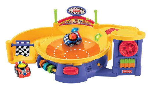 Fisher-Price Lil' Zoomers Spinnin' Sounds Speedway RC Toys