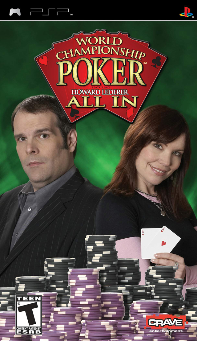 World Championship Poker: All In Sony PSP video game