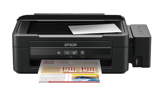 EPSON L350 Ink Tank Print Copy & Scan Inkjet Printer