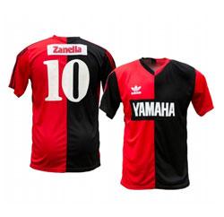 Newells Old Boys Diego Maradona Black Red Jersey