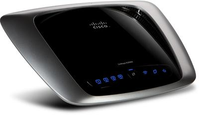 Cisco Linksys E2000 Dual Band N-Router(Black & Grey)