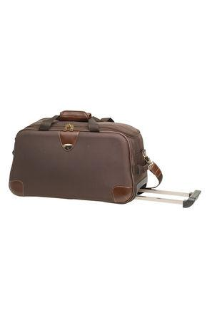 VIP Classique Duffle Trolley 62 (Saddle Brown)