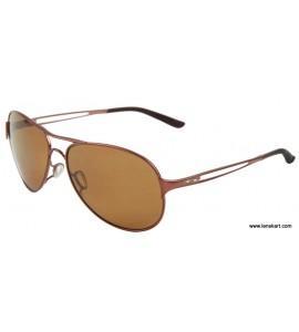 Oakley 004054 -05 Size:60 Copper Women Metal Sunglasses