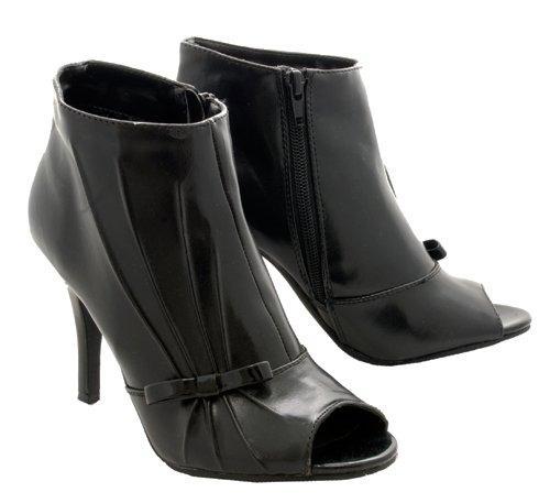 Madeline Stuart Bev Black Ladies Shoes