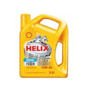Shell Helix Diesel HX6 Engine Oil 15W-40 1ltr