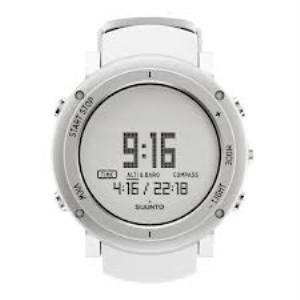 Suunto core alu pure white unisex watch