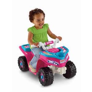 Power Wheels Fisher-Price  Sport Quad Toy