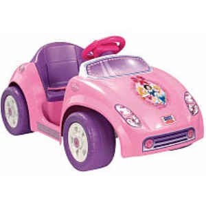 Power Wheels Disney Princess Tot Rod Toy