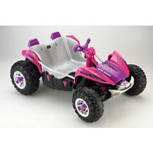 Power Wheels Fisher-Price 12 Volt Dune Racer Ride On - Pink Toy