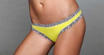 Victorias Secret  Lace trim Thong Panty