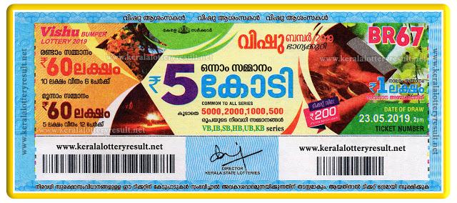 Kerala Vishu Bumper Lottery Ticket 2021 Online