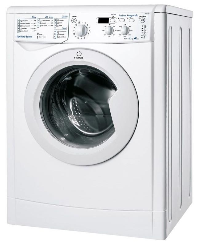 Indesit IWD71251ECOT 1200 Spin, 7kg  Front loading Washing Machine