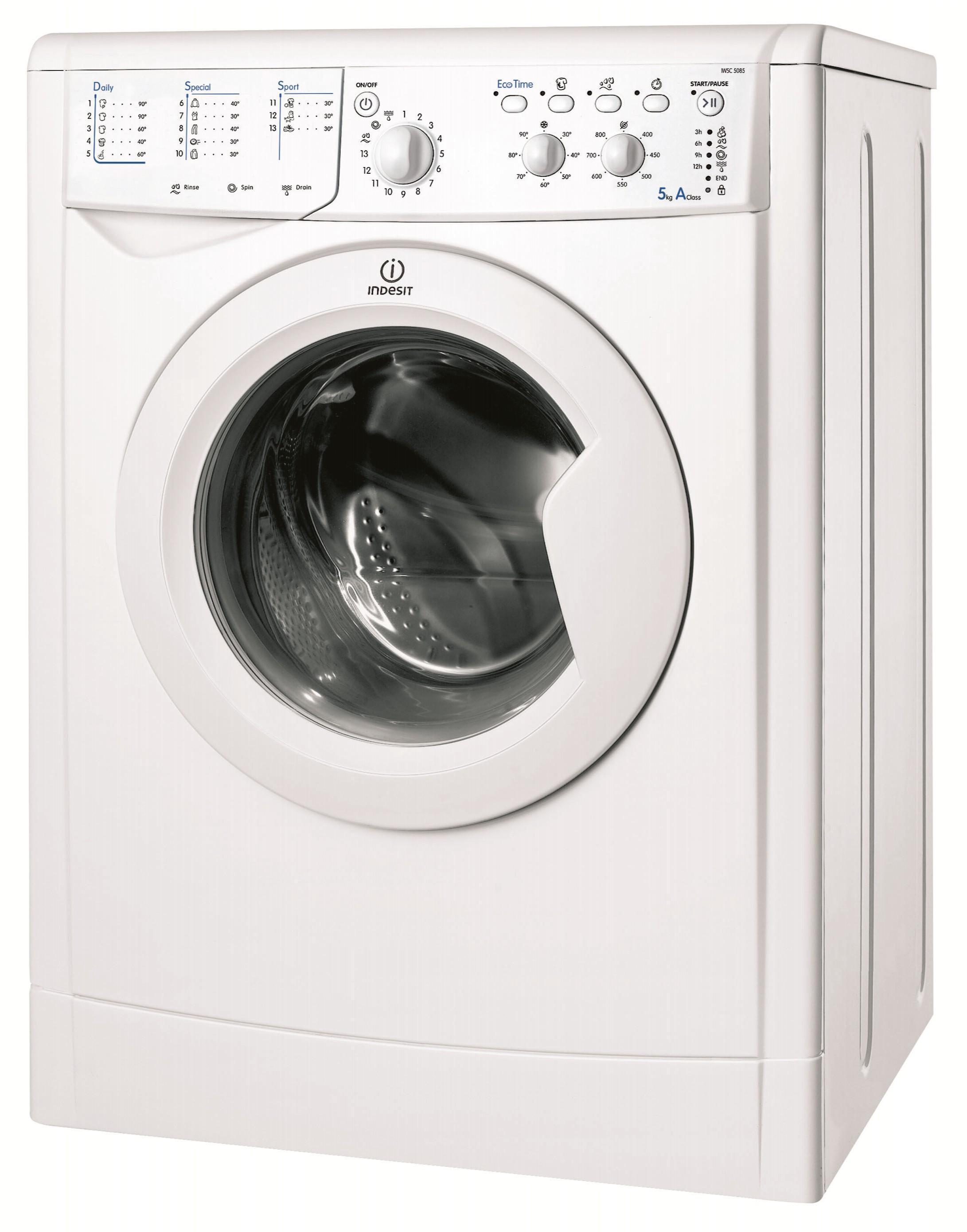 Indesit IWSC51051ECO 1000rpm 5kg Washing Machine White