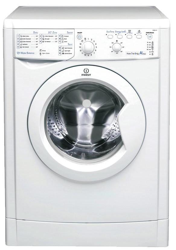 Indesit IWSB61251ECO 1200 Spin 6kg Washing Machine