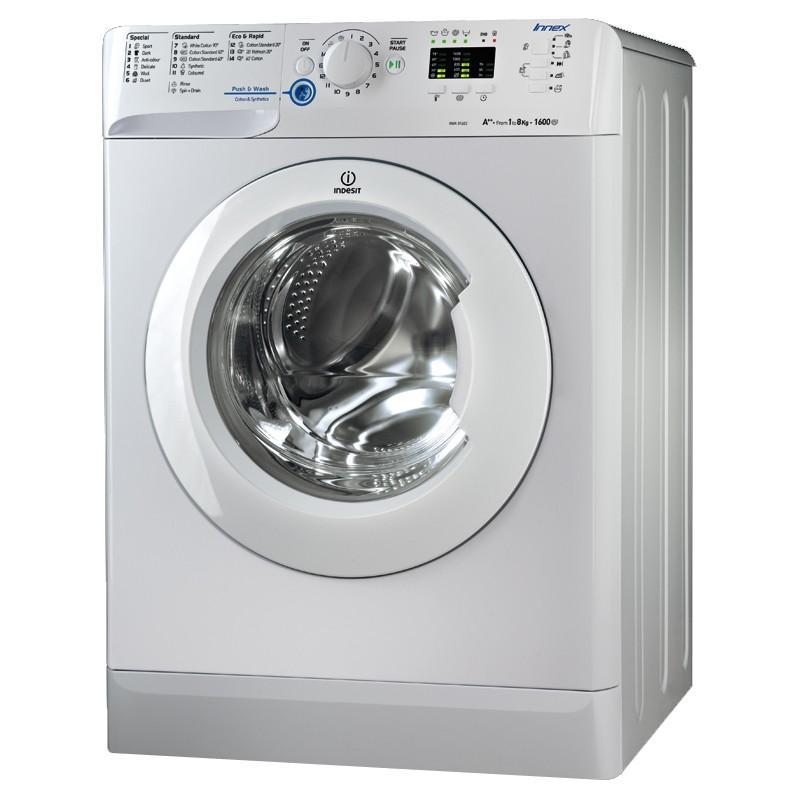 Indesit XWA81682XW Innex 1600 Spin 8kg Washing Machine