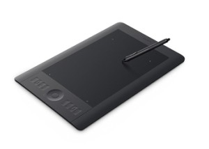 Wacom  Intuos5 touch Medium  Pen Tablet Model PTH-450/K0-C