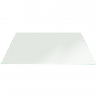 Coffee Table Top Clear Glass Rectangle 8mm thickness