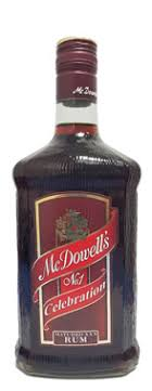McDowell's No.1 Celebration XXX Rum