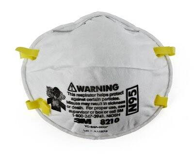 3M 8210 N95 Mask and Respirator (20 pieces pack)